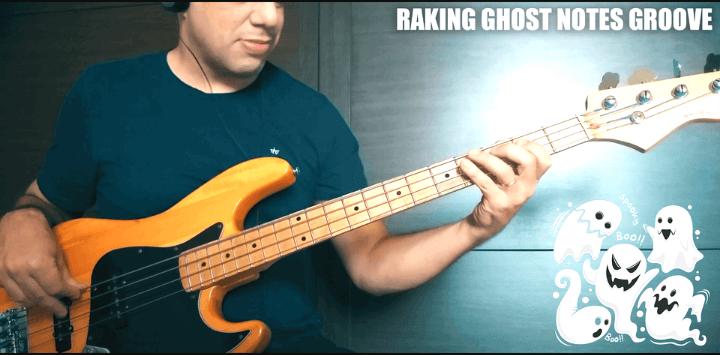 Raking Ghost Notes Groove